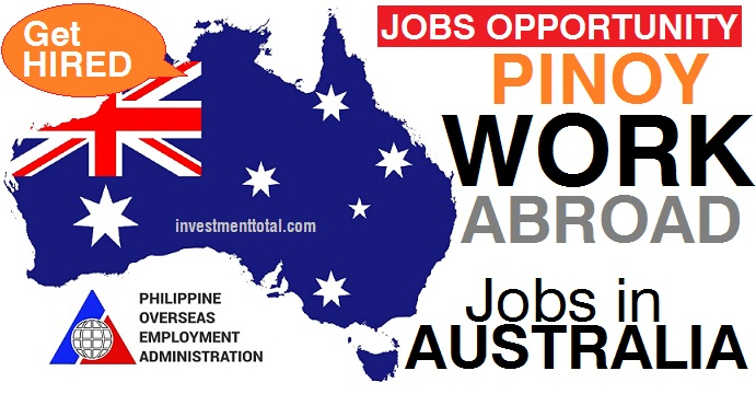 jobs in australia for filipinos