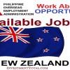 jobs in new zealand poea