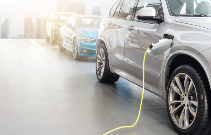 profits from EV penny stocks help charge a car