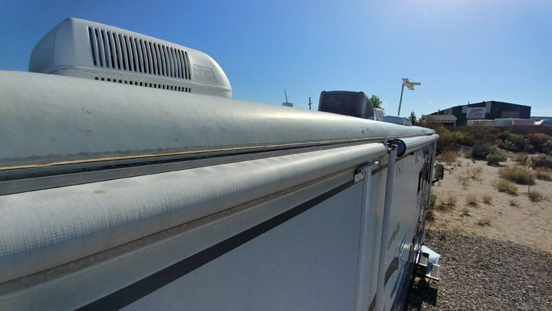 How to glue your Winnebago roof back down | Investor Dispatch