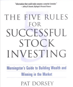 The Five Rules for Successful Stock Investing