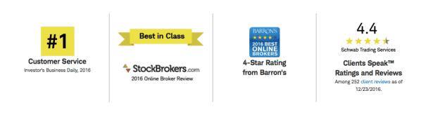 charles schwab brokerage trading platform