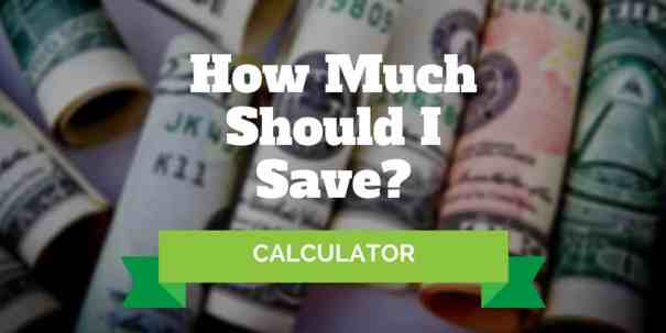how much should i save