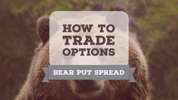 how to trade a bear put options spread