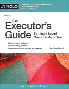 nolo executors guide