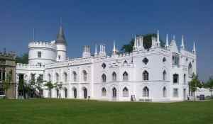 strawberry hill house from garden 2012