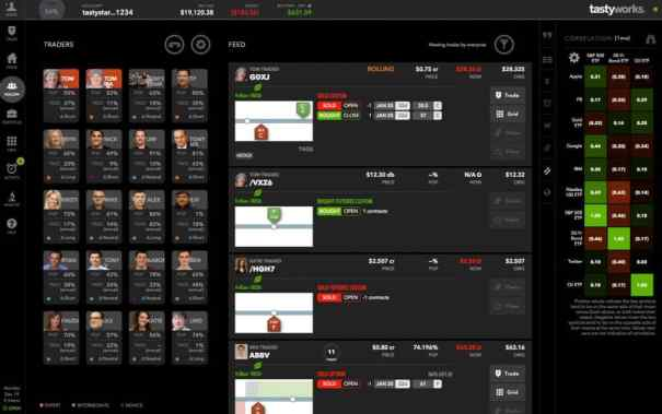tastyworks trader view