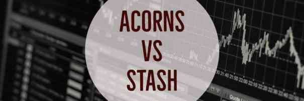 acorns vs stash invest app