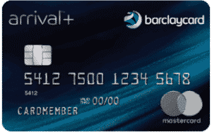arrival plus barclaycard