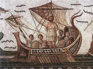 odysseus tied to the mast