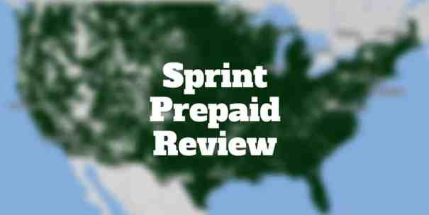sprint prepaid review