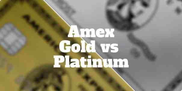 amex gold vs platinum