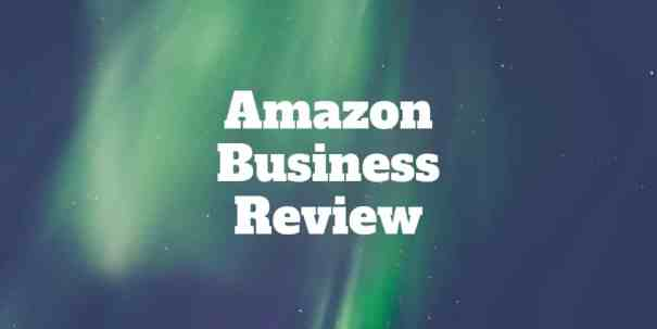 amazon business review