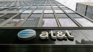 una foto dell'edificio per uffici AT&T