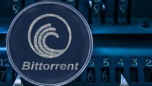 A concept image of the BitTorrent (BTT) token.