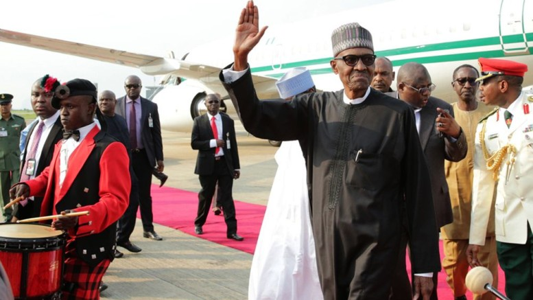 Image result for Buhari returns to Nigeria today after vacation in London