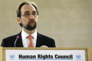 Zeid Ra'ad Zeid Al-Hussein, United Nations High Commissioner for Human Rights