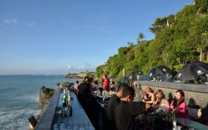 Beach bar in Bali