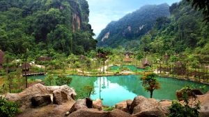 Mountain resort in Malaysia