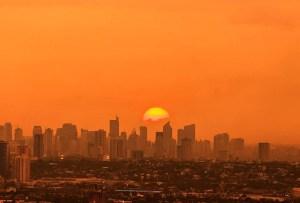 Manila at dawn