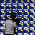 Asia shares, crude down on Greek tragedy