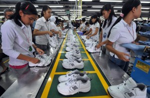 Indonesia factory workers