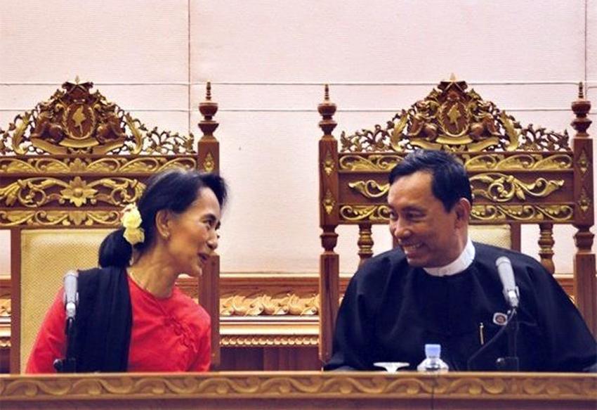 Aung San Suu Kyi works towards alliance with Shwe Mann