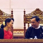Aung San Suu Kyi works towards alliance with Shwe Mann