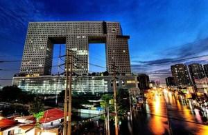 Bangkok elephant building