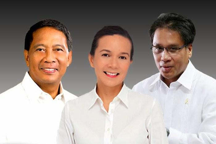 Philippine election candidates