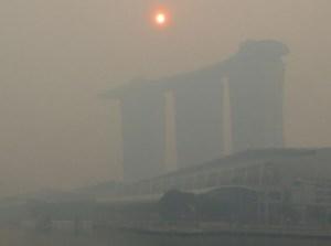 Singapore haze 2015