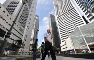 Singapore high street