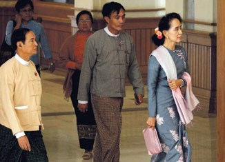 Historic day for Myanmar as new parliament convenes