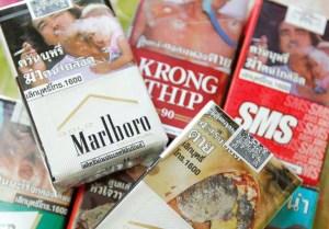 Thailand cigarettes