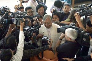 Htin Kyaw elected