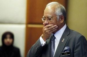 Najib Razak troubled