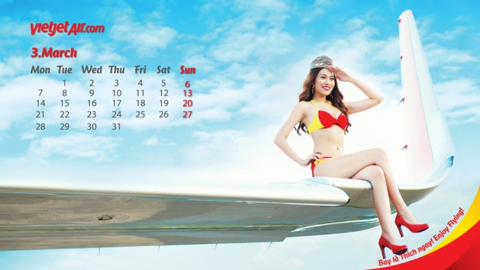 VietJet calendar