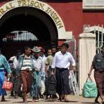 Myanmar releases scores of political prisoners