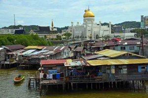 Brunei slums