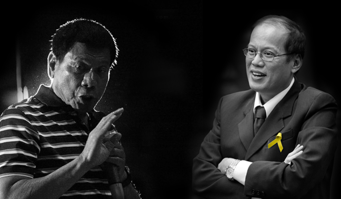 The frontrunner to succeed Aquino as President is Davao Mayor Rodrigo Duterte