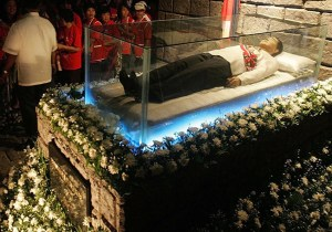 Marcos in crypt