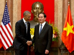 Obama in Vietnam