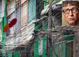 Bill Gates upsets Thais with cable mess comments