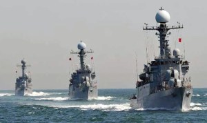 Warship South China Sea