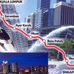 Kuala Lumpur-Singapore high-speed train project kicked off