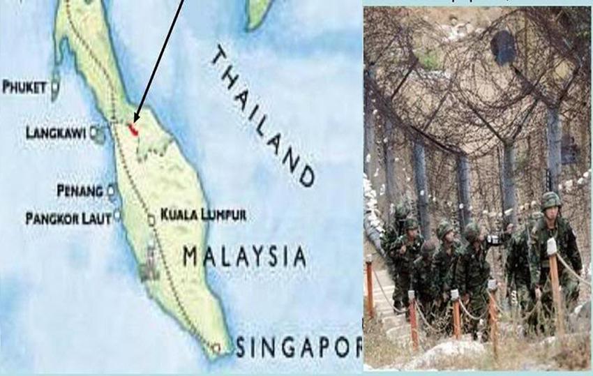 Malaysia, Thailand to build border fence