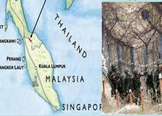 Malaysia, Thailand to build border fence