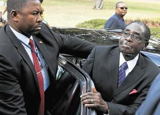 What did Mugabe do in Malaysia?