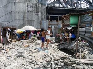 Slum in Manila