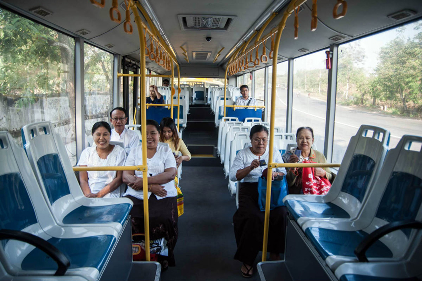 Yangon gets first-ever regular bus network